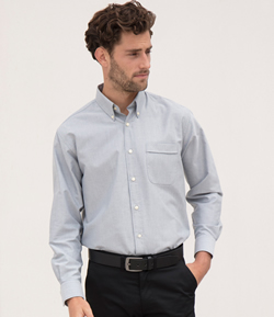 H510 - Henbury Long Sleeve Oxford